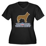 Dog, The Other White Meat Women's Plus Size V-Neck