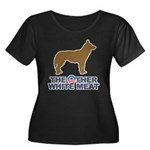 Dog, The Other White Meat Women's Plus Size Scoop