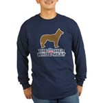 Dog, The Other White Meat Long Sleeve Dark T-Shirt