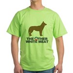 Dog, The Other White Meat Green T-Shirt