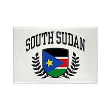 South Sudan Rectangle Magnet