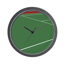 Tennis Court Wall Clock