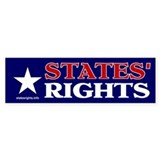 Bumper Sticker, Star, States' Rights