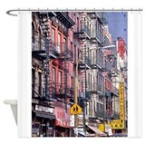 Ny Street Shower Curtains | Custom Themed Ny Street Bath Curtains ...