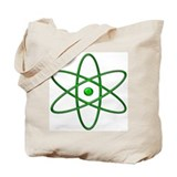 """Orbit, Green"" Tote Bag"