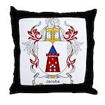 Jacobs Coat of Arms, Family C Throw Pillow