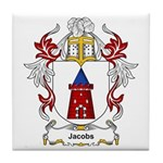 Jacobs Coat of Arms, Family C Tile Coaster