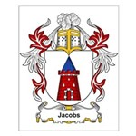 Jacobs Coat of Arms, Family C Small Poster