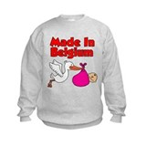 Made In Belgium Girl Sweatshirt