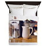 Diner Series: Milk Pitcher Queen Duvet