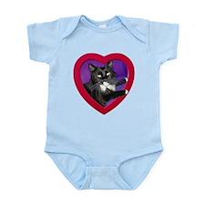 Cat in Heart Infant Bodysuit
