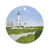 Nantucket Treasure Ornament (Round)