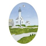 Nantucket Treasure Ornament (Oval)