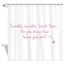 Twinkle Twinkle Little Star P Shower Curtain