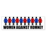 Women Against Romney Bumper Sticker
