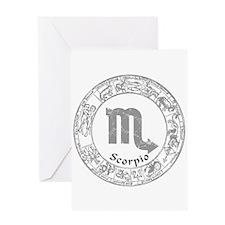 Scorpio Zodiac sign Greeting Card