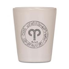 Aries Zodiac sign Shot Glass