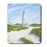 Dunes At Great Point Light Mousepad