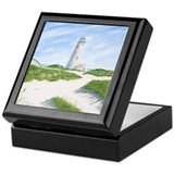 Dunes At Great Point Light Keepsake Box