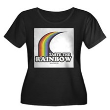 Unique Taste the rainbow T