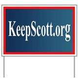 KeepScott.org Yard Sign