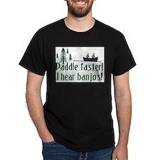 PaddleFasterBanjos T-Shirt