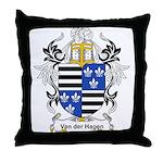 Van der Hagen Coat of Arms Throw Pillow