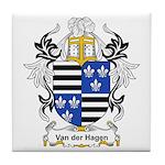 Van der Hagen Coat of Arms Tile Coaster