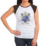 Van der Hagen Coat of Arms Women's Cap Sleeve T-Sh