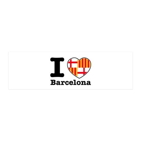 I love Barcelona 42x14 Wall Peel