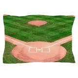 Baseball Diamond Pillow Case