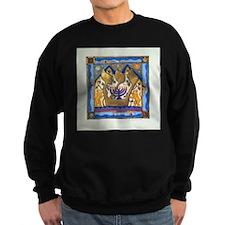 Hebrew Blue Shin Sweatshirt