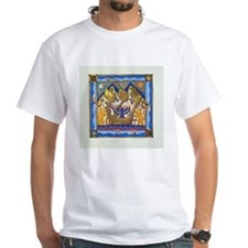 Hebrew Blue Shin Shirt