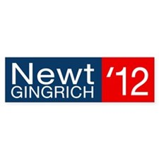 Newt Gingrich Bumper Sticker