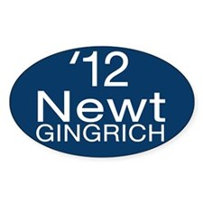 Newt Gingrich Decal
