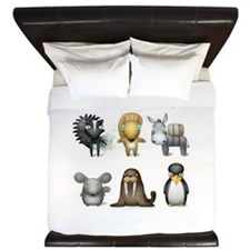 The Other Zoo King Duvet