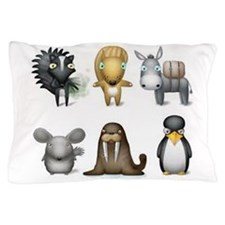 The Other Zoo Pillow Case