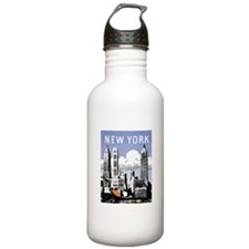 Classic New York Sports Water Bottle