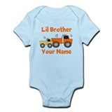 Little Brother Truck Onesie