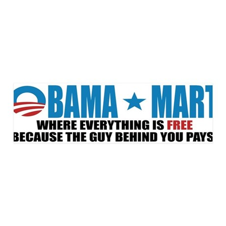 Anti Obama 2012 42x14 Wall Peel