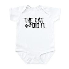 The Cat Did It Infant Creeper