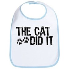 The Cat Did It Bib