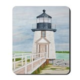 Evening Light at Brant Point Mousepad