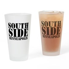 South Side Minneapolis Drinking Glass