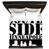 South Side Minneapolis King Duvet