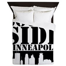 South Side Minneapolis Queen Duvet