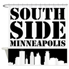 South Side Minneapolis Shower Curtain