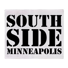 South Side Minneapolis Throw Blanket