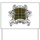 Thomson Tartan Shield Yard Sign