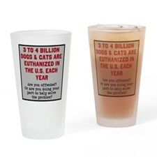 CALL TO ACTION Apparel Drinking Glass